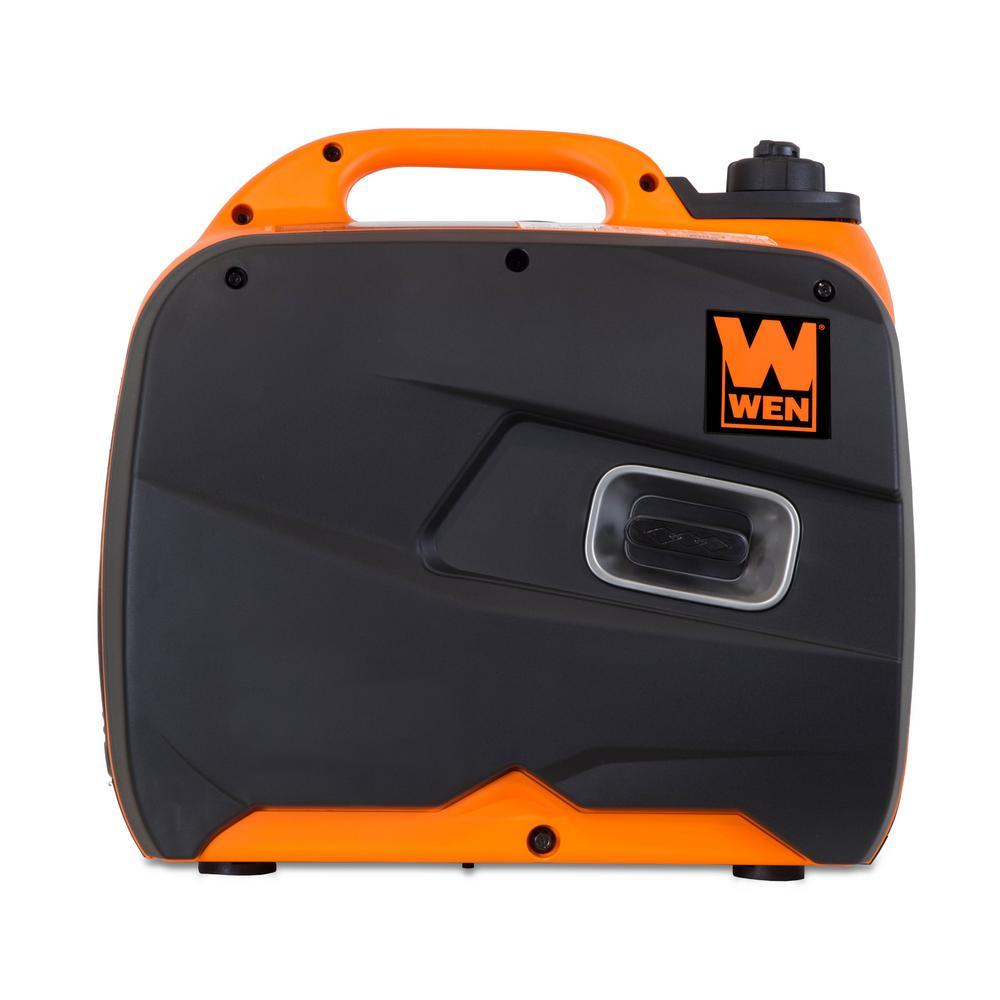 WEN 56200i Generator Side