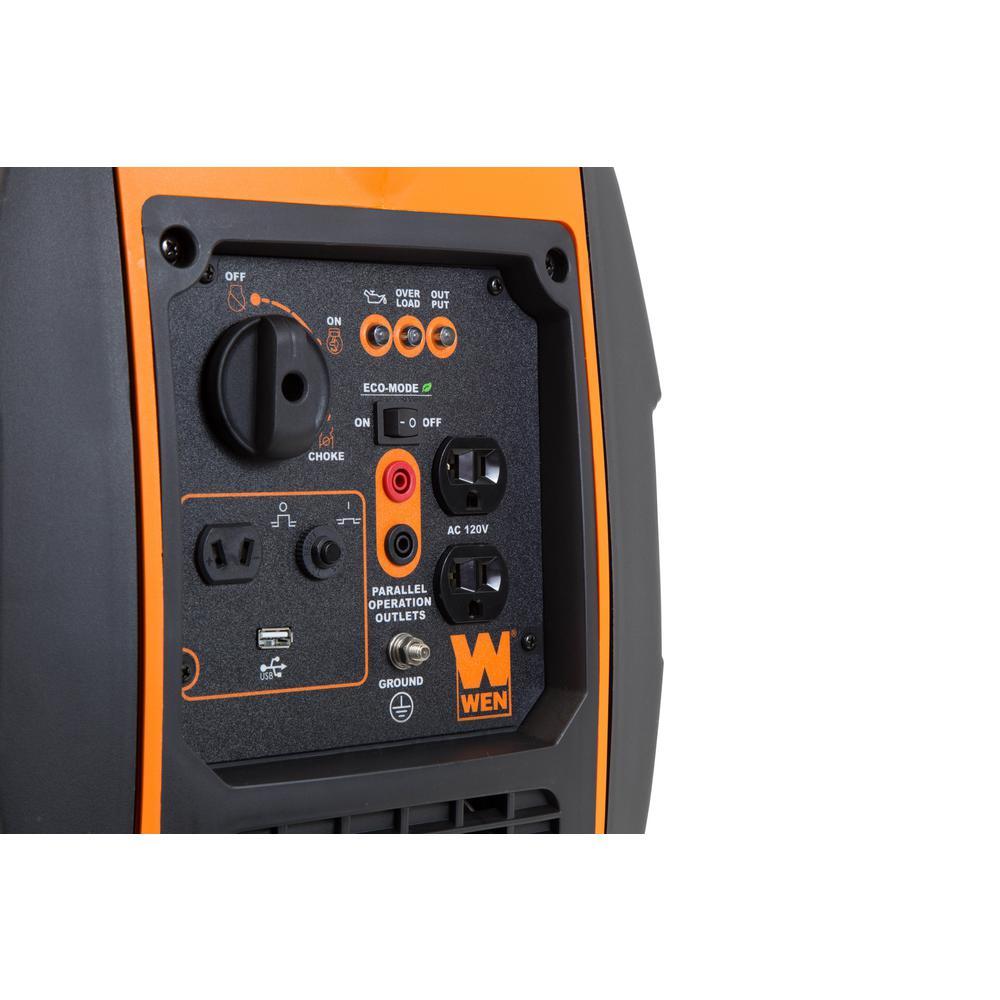 WEN 56200i Control Panel